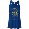 Apparel Bella+Canvas Flowy Racerback Tank / True Royal / Small Hike like there's a hot guy... Flowy Tank