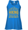 Apparel Bella Women's Flowy Tank / True Royal / S A Day Without Hiking