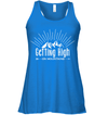 Apparel Bella Women's Flowy Tank / True Royal / S Getting High On Mountains