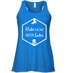 Apparel Bella Women's Flowy Tank / True Royal / S Hike Now Beer Later