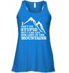Apparel Bella Women's Flowy Tank / True Royal / S I Can't Fix Stupid