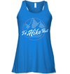 Apparel Bella Women's Flowy Tank / True Royal / S I'd Hike That Retro - Blue