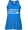 Apparel Bella Women's Flowy Tank / True Royal / S I'm Kinda Hard To Get