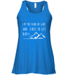 Apparel Bella Women's Flowy Tank / True Royal / S Im the kind of girl who likes to get dirty