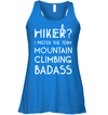 Apparel Bella Women's Flowy Tank / True Royal / S Mountain Climbing Badass