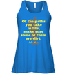 Apparel Bella Women's Flowy Tank / True Royal / S Of The Paths You Take