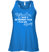 Apparel Bella Women's Flowy Tank / True Royal / S Retirement Plan