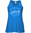 Apparel Bella Women's Flowy Tank / True Royal / S The Mountains Are Calling