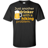 Apparel Custom Ultra Cotton T-Shirt / Black / Small Just another beer drinker... DO NOT TOUCH