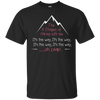 Apparel Custom Ultra Cotton T-Shirt / Black / Small The 5 Stages of Hiking with me! Basic Tee