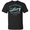Apparel Custom Ultra Cotton T-Shirt / Black / Small The Mountains are Calling and I Must Go. - John Muir - Basic Tee