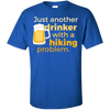 Apparel Custom Ultra Cotton T-Shirt / Royal / Small Just another beer drinker... DO NOT TOUCH