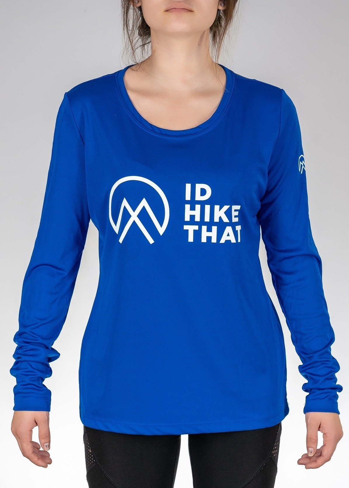 Apparel .I'd Hike That Logo! Long Sleeve - Sport Royal