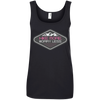 Apparel Ladies' 100% Ringspun Cotton Tank Top / Black / Small Hike more. Worry less. Cotton Tank Top