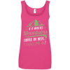 Apparel Ladies' 100% Ringspun Cotton Tank Top / Hot Pink / Small If it Involves Mountains, Coffee or Beer... Count Me In!
