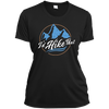 Apparel Ladies Short Sleeve Moisture-Wicking Shirt / Black / Small I'd Hike That - Athletic Tee