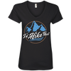Apparel Ladies' V-Neck Tee / Black / Small I'd Hike That - V-Neck Tee