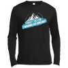 Apparel Long Sleeve Moisture Absorbing Shirt / Black / Small Forget the Gym...I Wanna Go Hiking! Long Sleeve