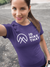 Apparel Performance T-Shirt / Sport Purple / XS I'd Hike That Logo! Poly Tee - Sport Purple
