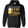 Apparel Pullover Hoodie 8 oz / Black / Small Just another beer drinker... Template