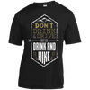 Apparel Short Sleeve Moisture-Wicking Shirt / Black / Small Don't Drink and Drive... Athletic Tee