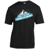 Apparel Short Sleeve Moisture-Wicking Shirt / Black / Small Forget the Gym...I Wanna Go Hiking! Athletic Tee