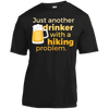 Apparel Short Sleeve Moisture-Wicking Shirt / Black / Small Just another beer drinker... Template