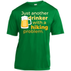 Apparel Short Sleeve Moisture-Wicking Shirt / Kelly Green / Small Just another beer drinker... DO NOT TOUCH
