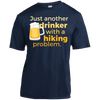 Apparel Short Sleeve Moisture-Wicking Shirt / True Navy / Small Just another beer drinker... DO NOT TOUCH