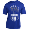 Apparel Short Sleeve Moisture-Wicking Shirt / True Royal / Small Don't Drink and Drive... Athletic Tee