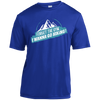 Apparel Short Sleeve Moisture-Wicking Shirt / True Royal / Small Forget the Gym...I Wanna Go Hiking! Athletic Tee