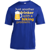 Apparel Short Sleeve Moisture-Wicking Shirt / True Royal / Small Just another beer drinker... Athletic Tee