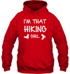 Apparel Unisex Heavyweight Pullover Hoodie / Red / S I'm That Hiking Girl