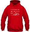 Apparel Unisex Heavyweight Pullover Hoodie / Red / S Im the kind of girl who likes to get dirty