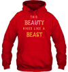 Apparel Unisex Heavyweight Pullover Hoodie / Red / S This Beauty Hikes