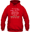 Apparel Unisex Heavyweight Pullover Hoodie / Red / S You Can Take The Girl Out