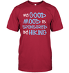 Apparel Unisex Short Sleeve Classic Tee / Deep Red / S My Good Mood