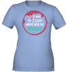 Apparel Womens Performance Tee / Light Blue / S Drink Wine And Go Hiking
