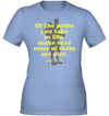 Apparel Womens Performance Tee / Light Blue / S Of The Paths You Take