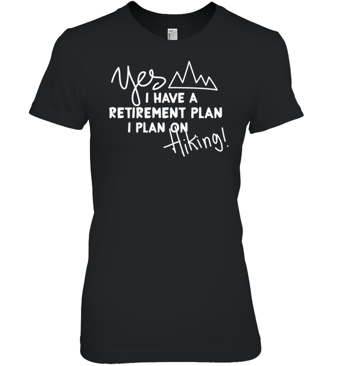 Apparel Womens Relaxed Fit Tee / Black / S Retirement Plan