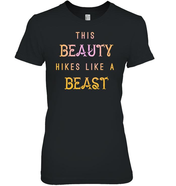 Apparel Womens Relaxed Fit Tee / Black / S This Beauty Hikes