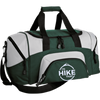 Bags Hunter Green/Grey / One Size IHT Colorblock Sport Duffel Bag