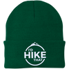 Hats One Size Fits Most Knit Cap / Athletic Green / One Size I'd Hike That Knit Beanie