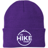Hats One Size Fits Most Knit Cap / Athletic Purple / One Size I'd Hike That Knit Beanie