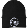 Hats One Size Fits Most Knit Cap / Black / One Size I'd Hike That Knit Beanie