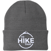 Hats One Size Fits Most Knit Cap / Gray / One Size I'd Hike That Knit Beanie