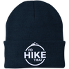 Hats One Size Fits Most Knit Cap / Navy / One Size I'd Hike That Knit Beanie