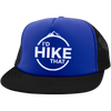 Hats Trucker Hat with Snapback / Blue/Black / One Size I'd Hike That Trucker Hat