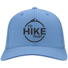 Hats Twill Cap / Carolina Blue / One Size I'd Hike That Cap