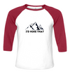 Sunny Mountain Baseball Tee